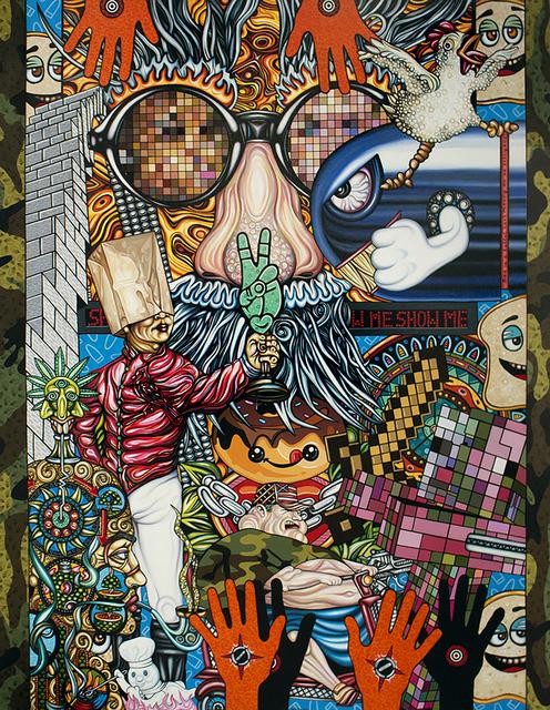 Thom Whalen, 'God is a Bullet', 2017, Springfield Art Association