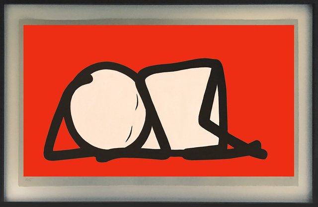 , 'Sleeping Baby red,' 2015, Galerie Kronsbein
