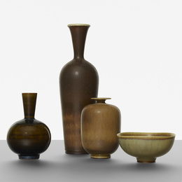 Collection of four vessels