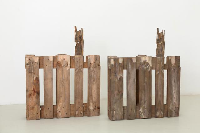 , 'Two Half Pallets,' 2011, Magazzino