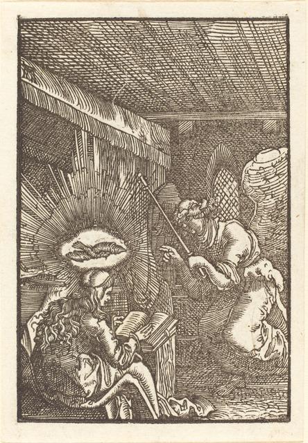 Albrecht Altdorfer, 'The Annunciation', ca. 1513, National Gallery of Art, Washington, D.C.