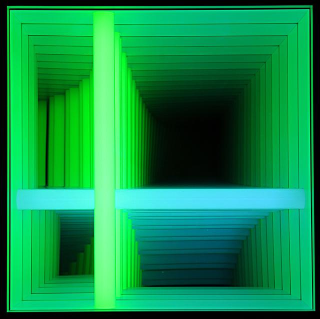 , 'Forked Series #41 (Green & Blue),' 2019, C. Grimaldis Gallery