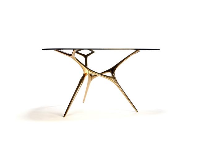 Timothy Schreiber, 'Bronze E-Volved Table', 2016, Wexler Gallery