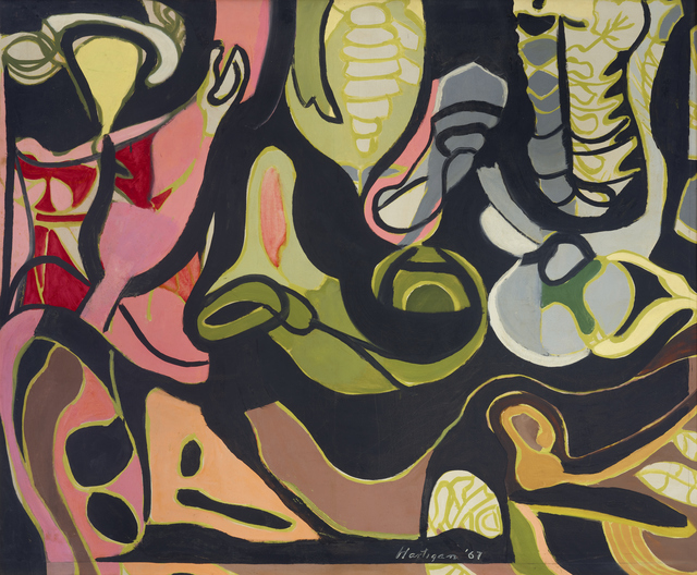 , 'Bony Labyrinth,' 1967, ACA Galleries