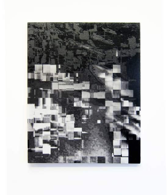 , 'DataError painting UooU,' 2015, Galerie Ron Mandos