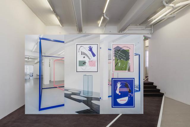 """, 'Wallpaper """"Event"""" 2,' 2017, Andréhn-Schiptjenko"""
