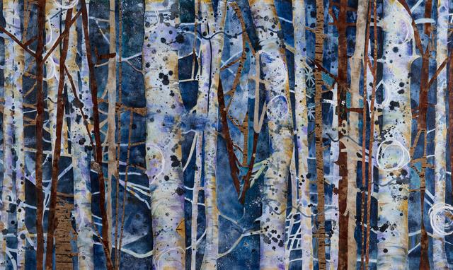, 'BLUE FAERIES,' 2017, Walter Wickiser Gallery