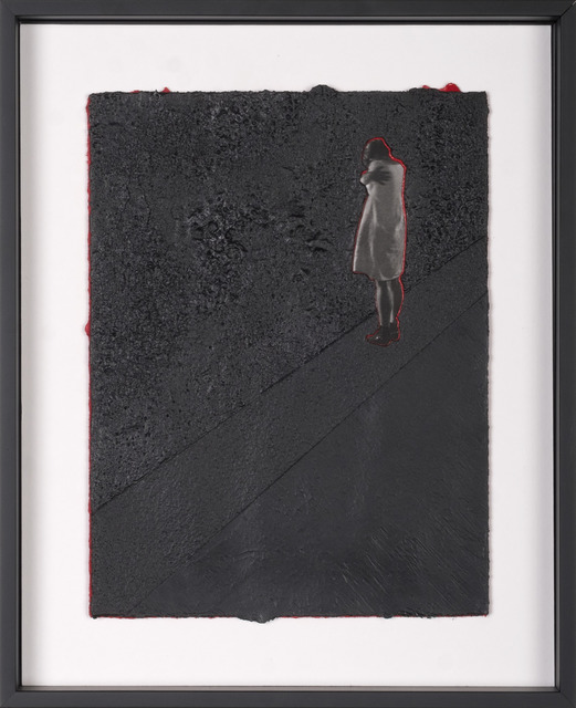 Scott Vincent Campbell, 'Not Good But Well Behaved (Prayer Card #14)', 2016, M Contemporary Art