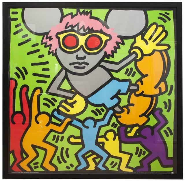 Keith Haring, 'Andy Mouse', ca. 1993, EHC Fine Art