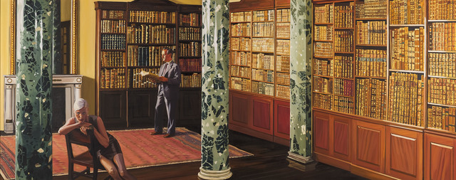 , 'The Lecture,' 1996, Ben Brown Fine Arts