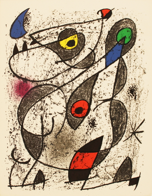 Joan Miró, 'A L'Encre II', 1972, ArtWise