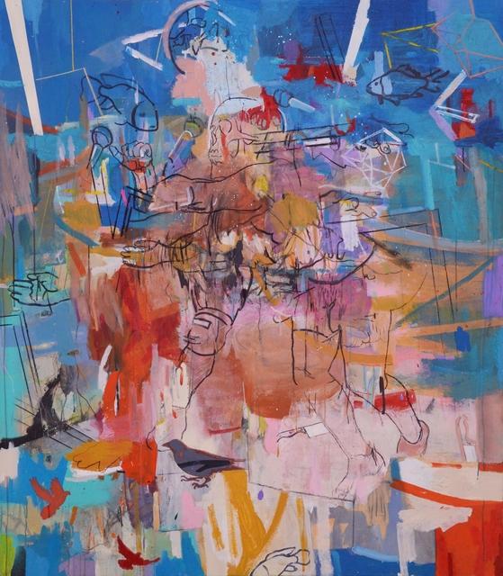 Thameur Mejri, 'Untitled (Stuff)', 2018, Gallery 1957
