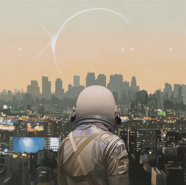 , 'The City,' 2018, Spoke Art