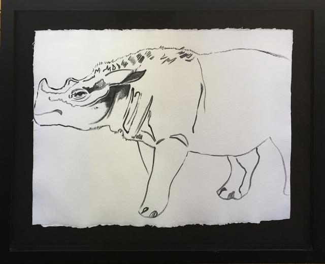 , 'Vanishing Animals -- Sumatras Rhinoceros,' 1986, Hamilton-Selway Fine Art
