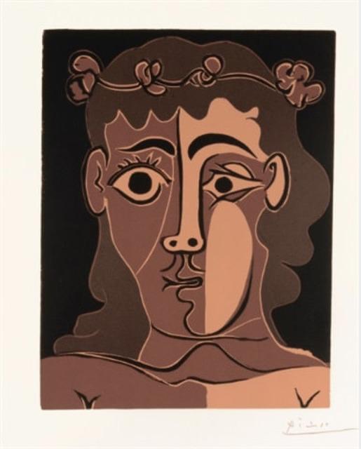 Pablo Picasso, 'Jeune Homme à la Couronne', 1962, Galerie Jean-François Cazeau
