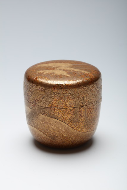 , 'Tea Caddy with Ancient Pine (T-4319),' ca. 1900, Erik Thomsen