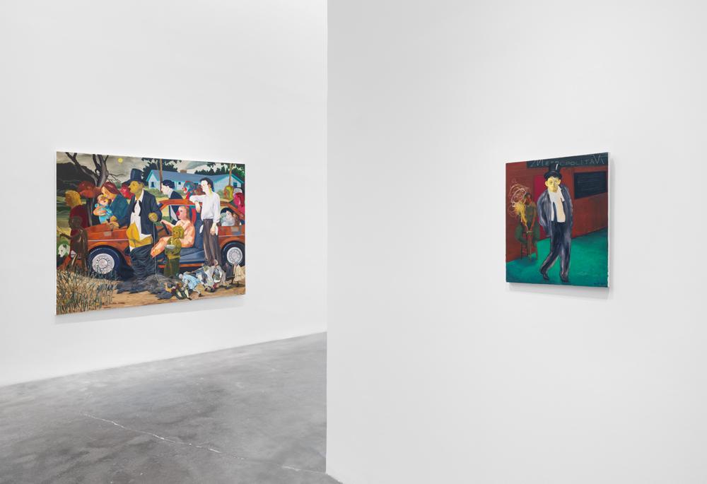"Installation view of ""Nicole Eisenman: Al-ugh-ories,"" courtesy og New Museum. Photo: Maris Hutchinson / EPW Studio"