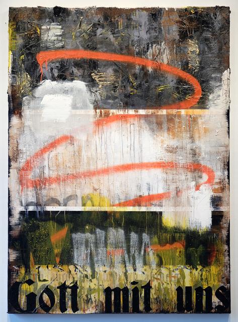 , 'Gott mit uns,' 2017, Galerie Heike Strelow