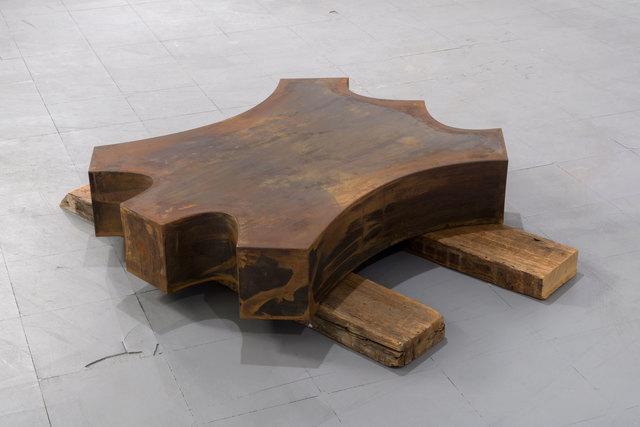 Outstanding Nick De Pirro Steel Neumann 2015 Available For Sale Artsy Creativecarmelina Interior Chair Design Creativecarmelinacom