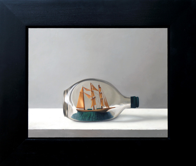 Dan Jackson, 'Ship in a Bottle', 2015, Painting, Oil on panel, Dolby Chadwick Gallery