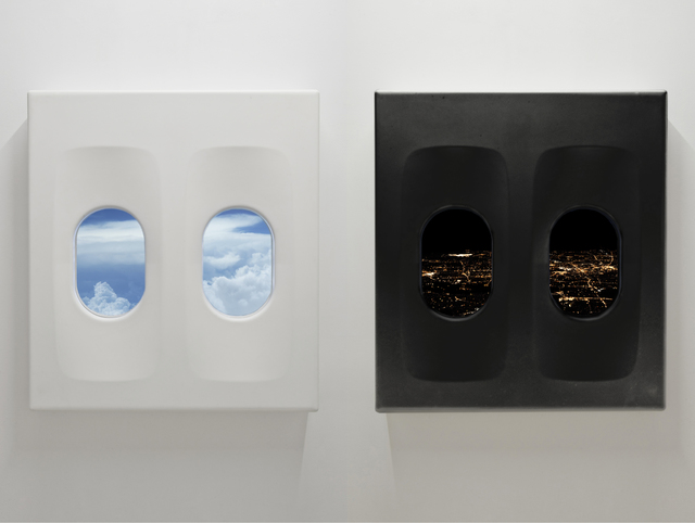 , 'White Flight Overnight, Black Flight Overday,' 2015, Nogueras Blanchard
