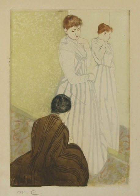 , 'The Fitting,' 1890-1891, Harris Schrank Fine Prints