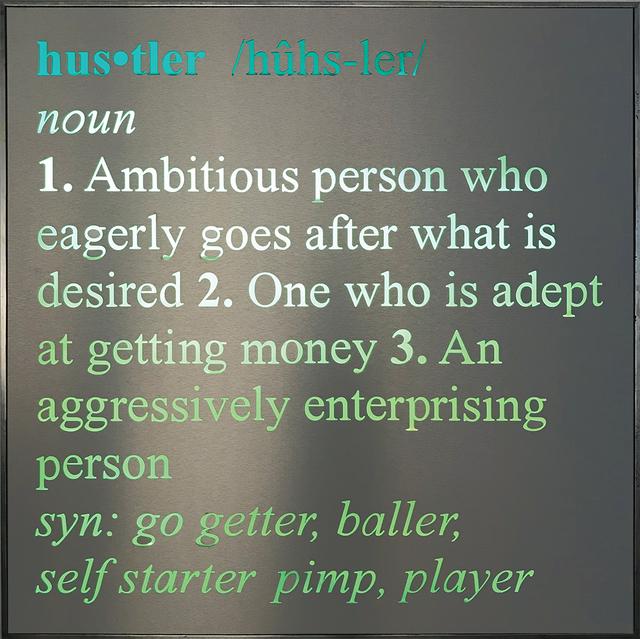 , 'Hustler,' , Lanoue Gallery