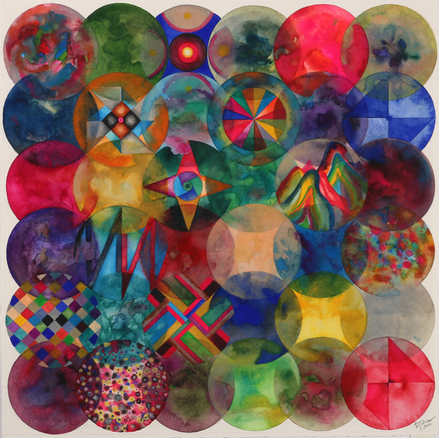 , '36 Color Balls (Parallelogram),' 2015, Chambers Fine Art