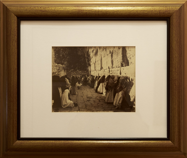 , 'Mur des Juifs, Jerusalem (Western Wall, Kotel),' ca. 1880, Vision Neil Folberg Gallery