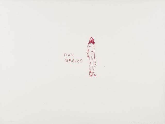 Tracey Emin, 'Dog Brains', 2000, Forum Auctions