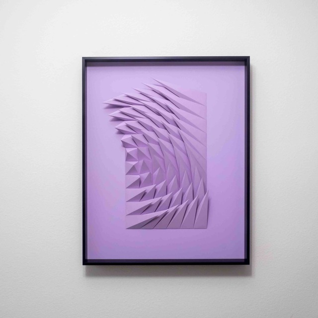 , 'Plum Swirl,' 2018, Contempop Gallery