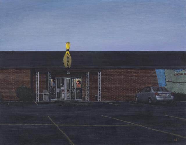 Jeff Gola, 'Sunday Evening at Lincoln Lanes', 2016, William Baczek Fine Arts