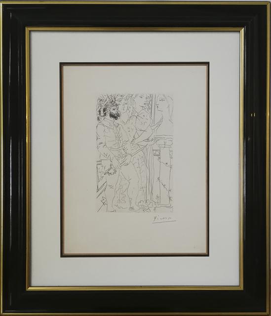 , 'Trois acteurs,' 1933, Galerie Calderone