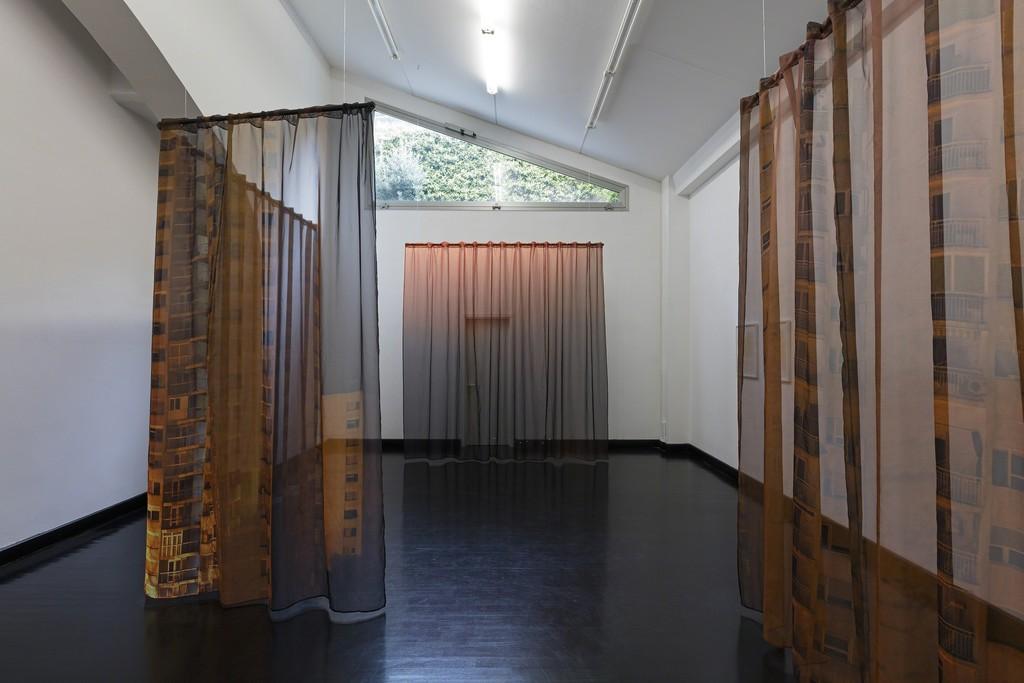 "Igor Eskinja, ""Efemeropolis"", 2016, installation view at FL GALLERY - SPAZIO 22"