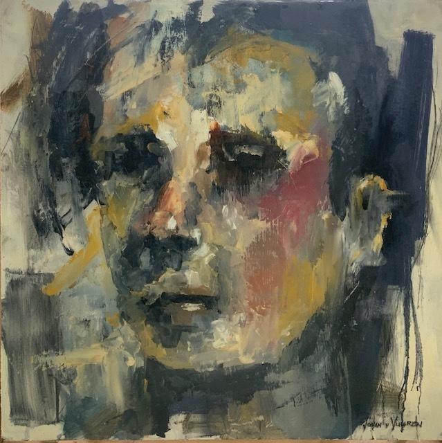 Johan van Vuuren, 'Grey Face Study', 2019, Axis Art Gallery