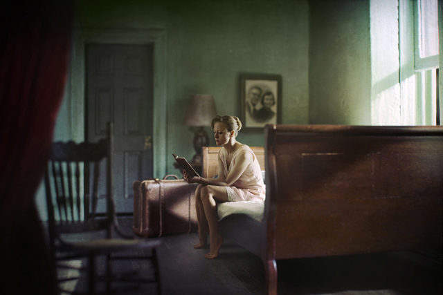, 'Woman Reading,' 2012, KLOMPCHING GALLERY
