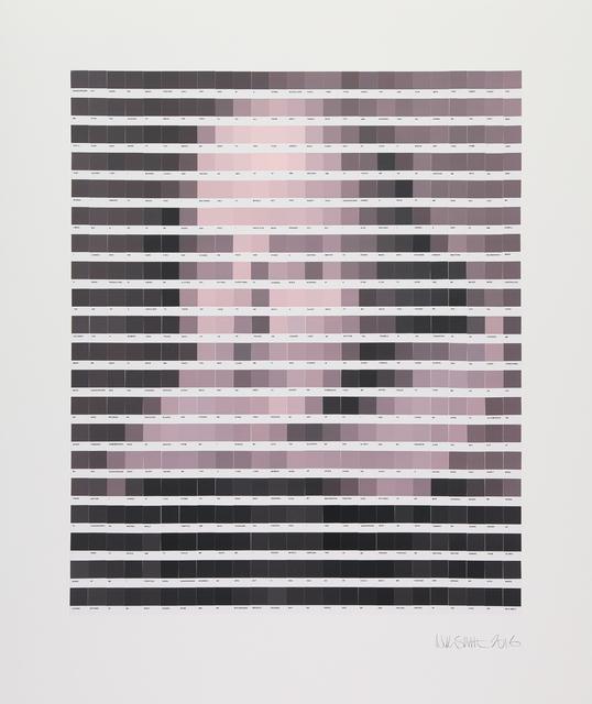 , 'Magenta Shakespeare,' 2016, Lawrence Alkin Gallery
