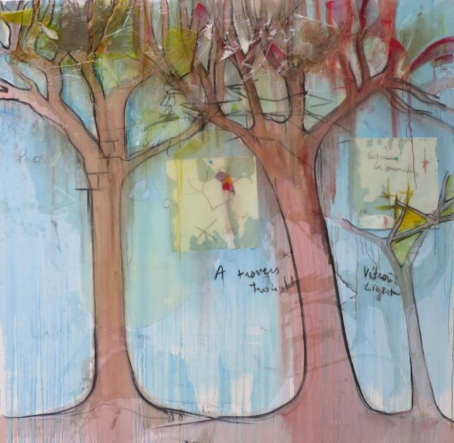, 'Invention du VITRAIL 2,' 2016, Galerie Nathalie Obadia