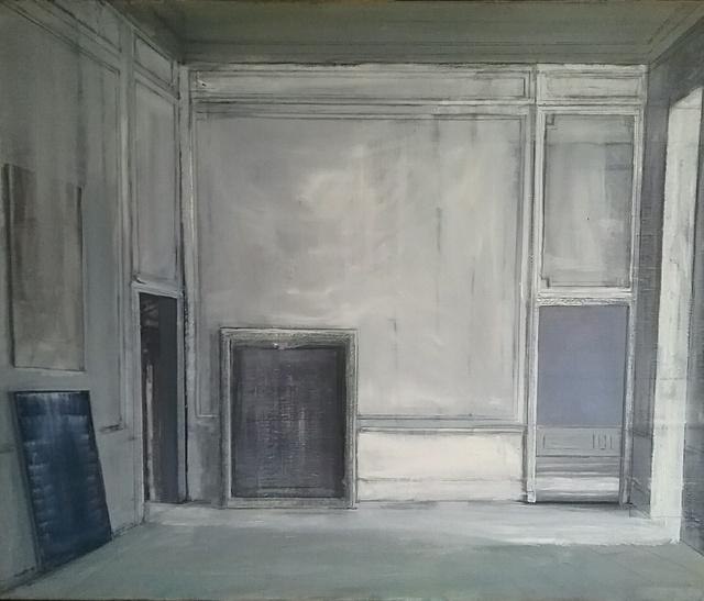 , 'Three Paintings and Three Doors,' 2018, Octavia Art Gallery