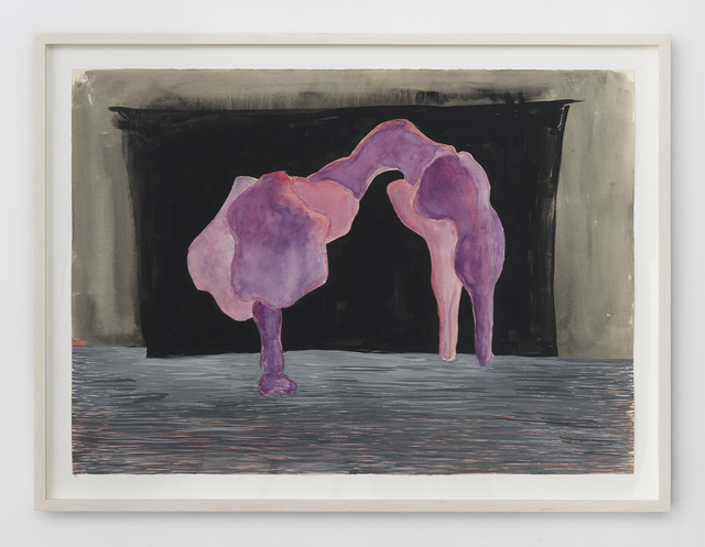 , 'Purple Arched Figure,' 1976, A.I.R. Gallery