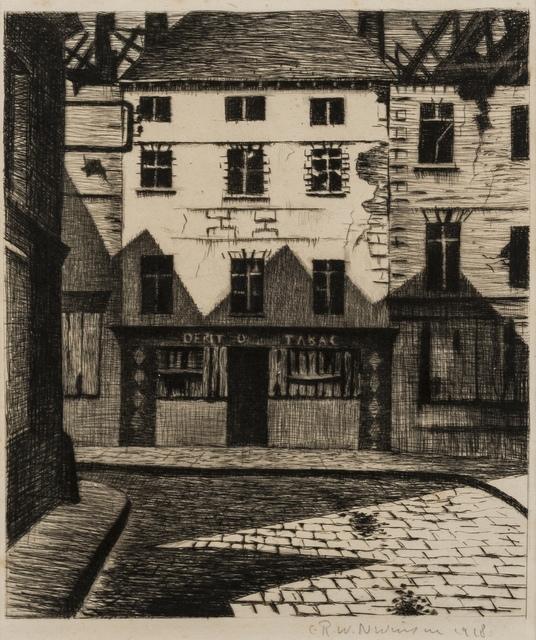 Christopher Richard Wynne Nevinson, 'Survivors at Arras (Black 22)', 1917, Forum Auctions