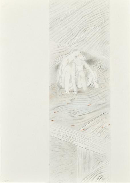 Tomoko Kashiki, 'Whispering', 2017, Painting, Pencil, coloured pencil, paper, Ota Fine Arts