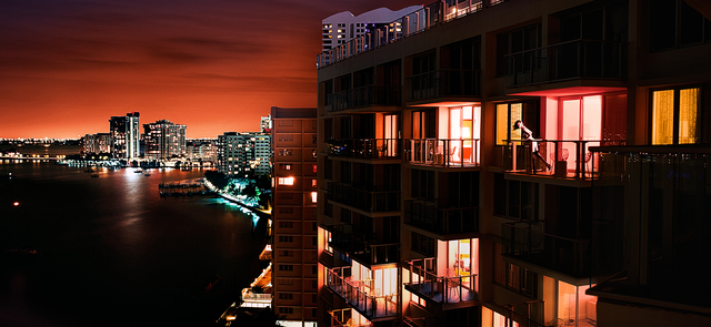 David Drebin, 'Miami At Night', 2009, Isabella Garrucho Fine Art