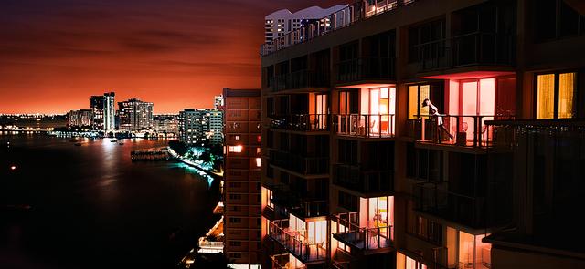 David Drebin, 'Miami At Night', 2009, Photography, Digital C-Print, Isabella Garrucho Fine Art