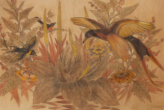 , 'Birds of Paradise,' 1936, Galerie Dumonteil