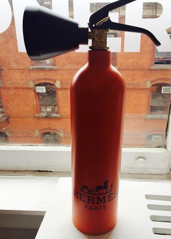 Hermes Fire Extinguisher by Niclas Castello