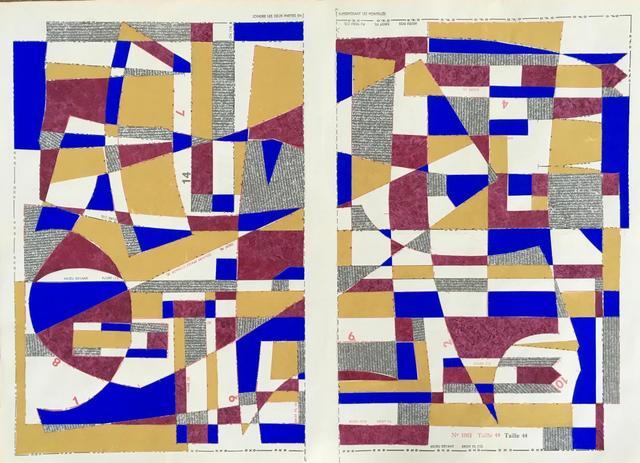 , 'Bauhaus Block No.5,' 2019, Emmanuelle G Gallery