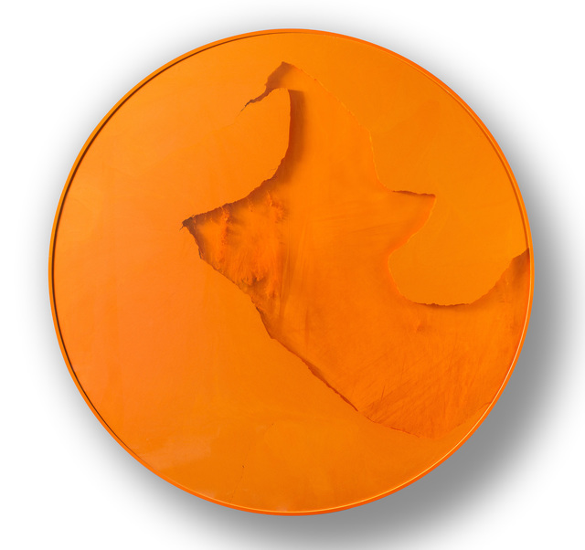 , 'Cercle orange signalisation,' 2011, Espace Meyer Zafra