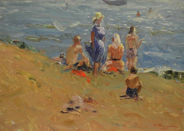 Leonid Ivanovich Bondarenko, 'In the Asov Sea', 1957, Surikov Foundation