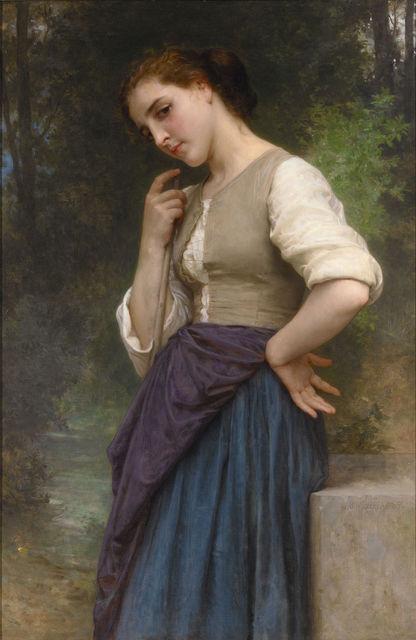 , 'The Shepherdess,' 1895, M.S. Rau Antiques